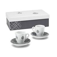 Set van 2 koffiekopjes