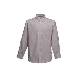 Men longsleeve Oxford Shirt Fruit of the loom