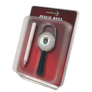 Pencil Reel in Standaard Blister met Logo Doming