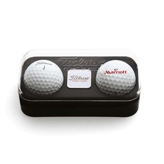 Titleist 2 Ball Ballmarker Box