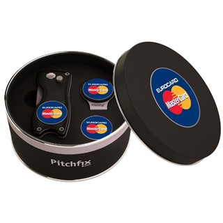 Pitchfix Cap Clip in Round tin with Pitchfix Origi