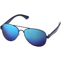 Vesica zonnebril met gespiegelde glazen