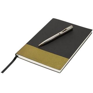 Midas notitieboek en pen cadeauset