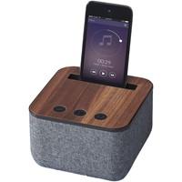 Shae Bluetooth® luidspreker van stof en hout