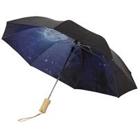 Clear night sky 2 delige 21 automatische paraplu