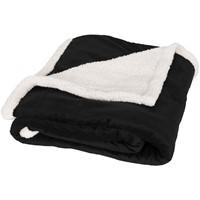 Lauren sherpa fleece plaid deken
