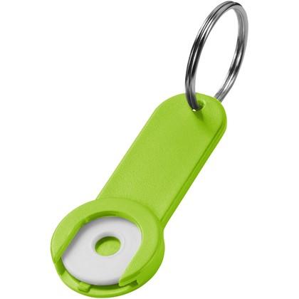 Shoppy munthouder met sleutelhanger