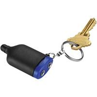2 in 1 muziekverdeler met stylus en sleutelhanger