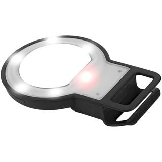 Spiegel LED selfie flitslamp