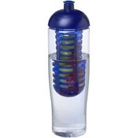 H2O Tempo® 700 ml bidon en infuser met koepeldeksel