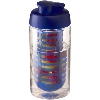 H2O Bop® 500 ml sportfles en infuser met flipcapdeksel