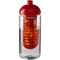 H2O Octave Tritan 600 ml bidon en infuser met koepeldeksel