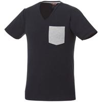 Gully heren t-shirt met zak en korte mouwen