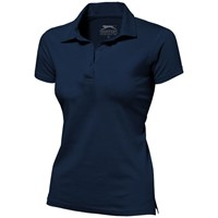 Let short sleeve women's jersey polo