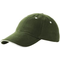 Brent 6 panel sandwich cap