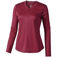 Quadra cool fit dames t-shirt lange mouwen