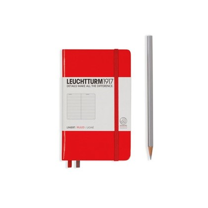 Leuchtturm1917 Hardcover Notitieboek, Pocket , gel