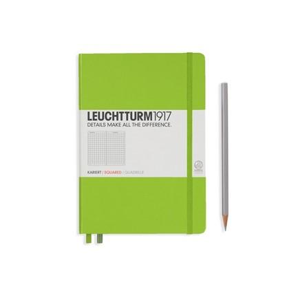 Leuchtturm1917 Hardcover Notitieboek, Medium, geru