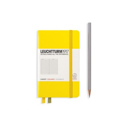 Leuchtturm1917 Hardcover Notitieboek, Pocket , ger