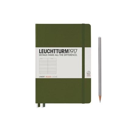 Leuchtturm1917 Hardcover Notitieboek, Medium, geli