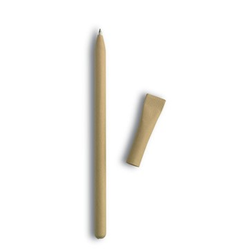 Balpen uit gerecycleerd papier