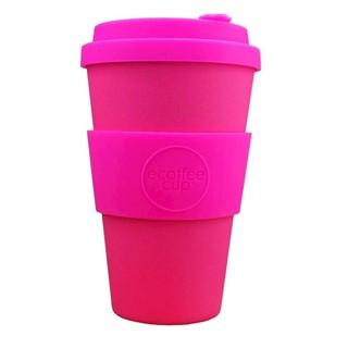 Ecoffee Cup Pink'd - Bamboe Beker - 400 ml - met R