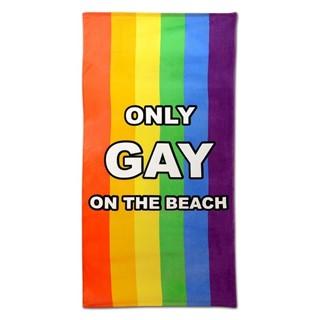 IGGI Only Gay On The Beach Handdoek