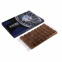 Chocoladetablet in doosje
