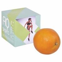 Sinaasappel in doosje