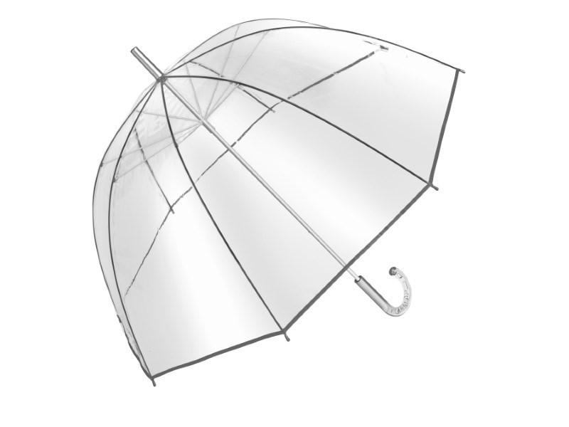 Transparante koepelparaplu