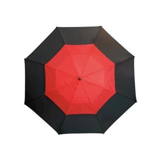 Windproof-Golf umbrellaMonsunblackred