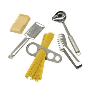 4-delige roestvrij stalen spaghetti set AL DENTE