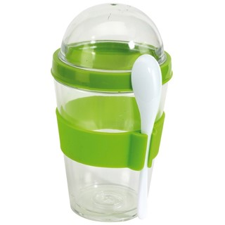 Yogurt Parfait Storage Set, apple groen