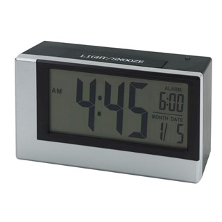 Alarm clock w licht sensor Smoulder