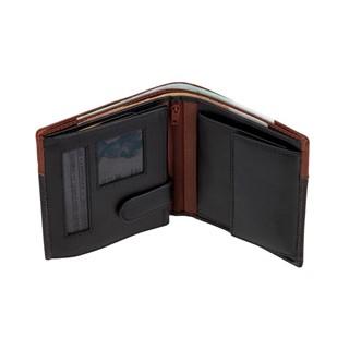 Lederen portemonnee CASH