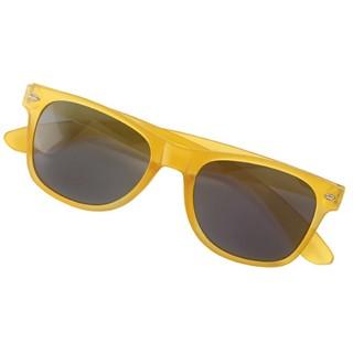 Frosted kunststof zonnebril POPULAR
