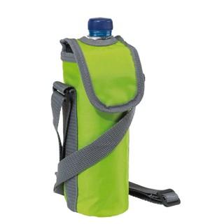 420D cooler bag for 0,5l bottle, groen