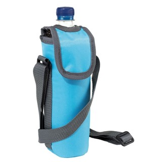 420D cooler bag for 0,5l bottle, l blue