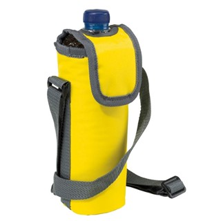 420D cooler bag for 0,5l bottle, geel
