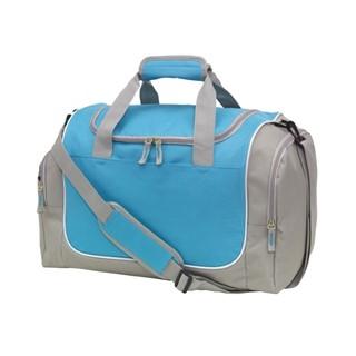 Sports bagGym600-D, grijs licht blue