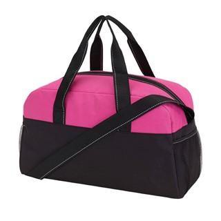 Sports bag Fitness, 300D, zwart /pink