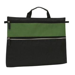 Document bag File600D,blackgreen
