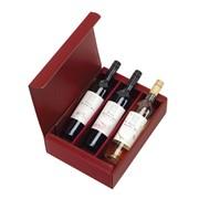 Geschenkdoos met 3 flessen wijn