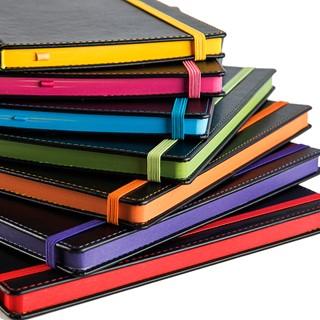 Accent Notitieboek met contrasterende kleureigensc