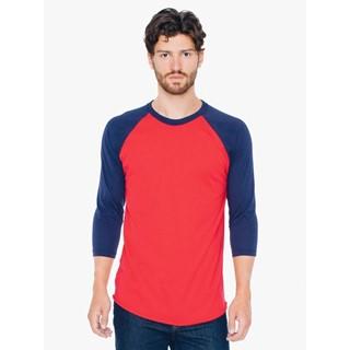 AMA T-shirt PolCot 34 Sleeve Raglan