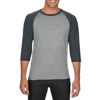 Anvil T-shirt TriBlend 34 Raglan Sleeve