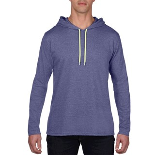 Anvil T-shirt Hooded licht weight LS for him