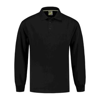 L&S Sweater Polo Open Hem