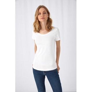 SLUB Organic katoen T-shirt Woman
