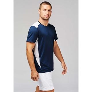 Tweekleurig sport-t-shirt